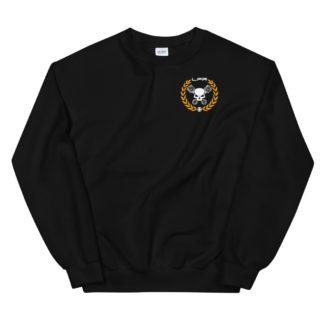 unisex crew neck sweatshirt black front 6060aafcd4ab6 - Leadfoot Racing Custom Fabrication & Modifications Workshop