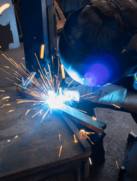 Ed Sadler lFR Welding min - Leadfoot Racing Custom Fabrication & Modifications Workshop